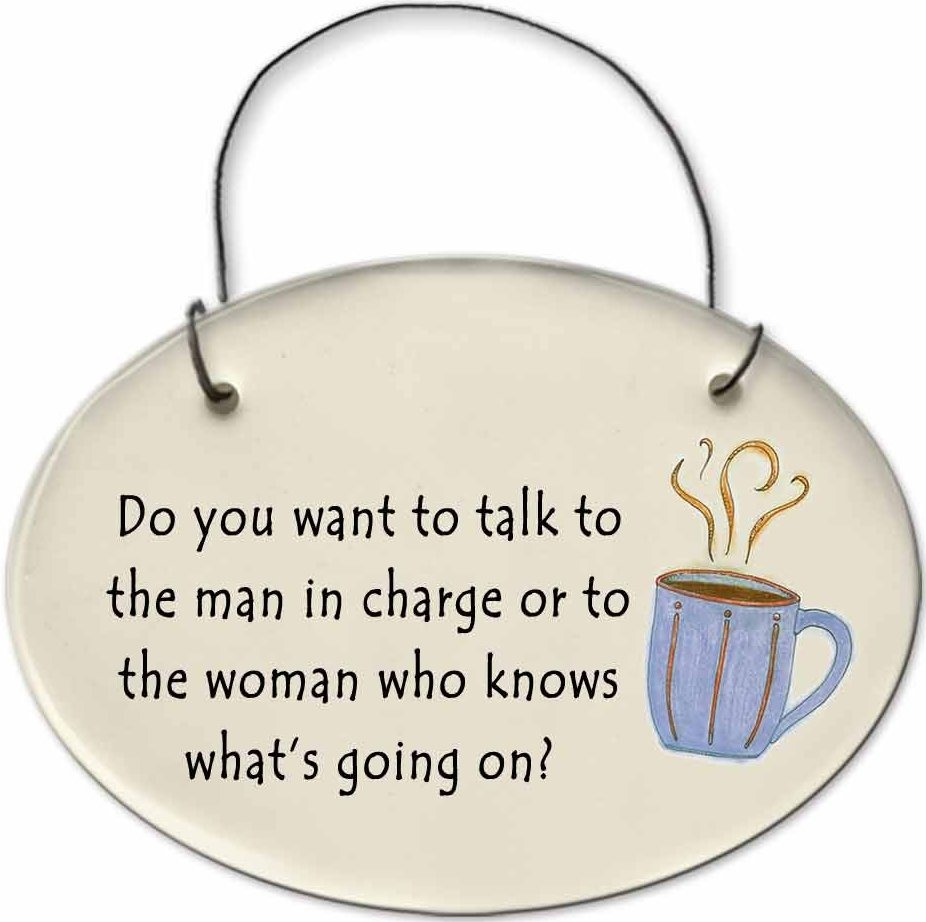 August Ceramics 2123D Coffee cup Do you want to talk to the man in charge or Mini Disk