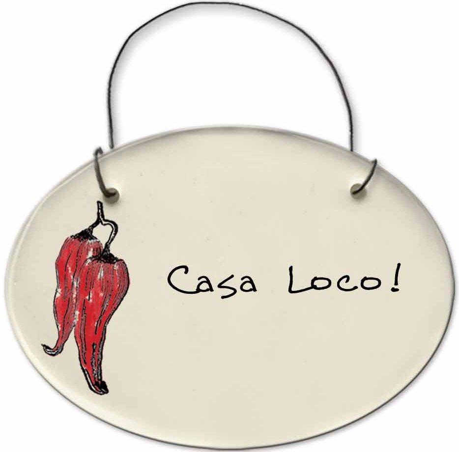 August Ceramics 2151E Chili Pepper - Casa Loco Mini Disk