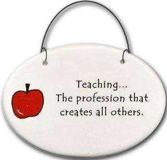 August Ceramics 2176B Apple Teaching the profession Mini Disk