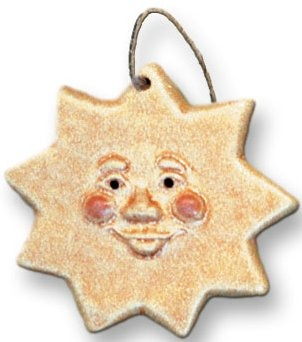 August Ceramics 3012 Sun Magnet