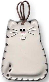 August Ceramics 3027WB Tiger Black White Magnet