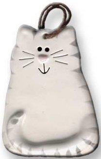 August Ceramics 3027WG Tiger Gray White Magnet
