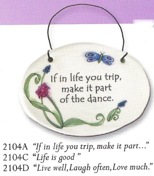August Ceramics 3104A Verse - Click Photo Disk Magnet