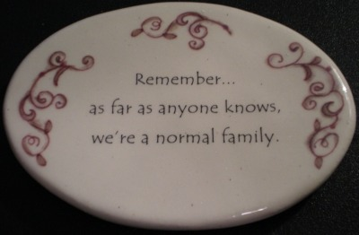 August Ceramics 3116A Verse - Click Photo Disk Magnet