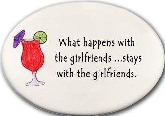 August Ceramics 3124D Daiquiri What happens with the girlfriends Disk Magnet