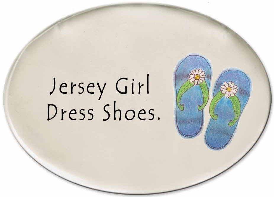 August Ceramics 3125I Flip Flops Jersey Girl dress shoes Disk Magnet