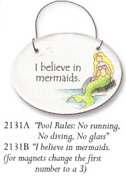 August Ceramics 3131A Verse - Click Photo Disk Magnet