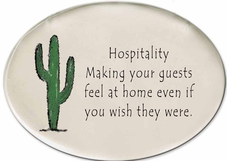 August Ceramics 3153J Cactus - Hospitality - making your guests Disk Magnet