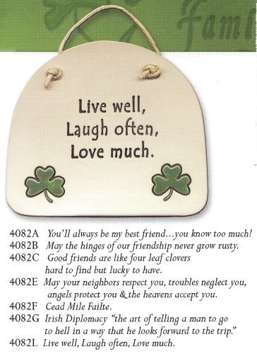 August Ceramics 4082B Verse - Click Photo Plaque