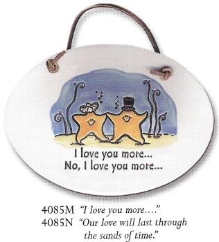 August Ceramics 4085M Verse - Click Photo Plaque