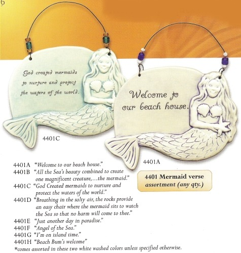 August Ceramics 4401G Verse - Click Photo Sculpted Wall Plaque