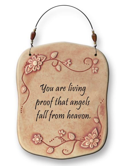 August Ceramics 4409B Verse - Click Photo Sculpted Wall Plaque