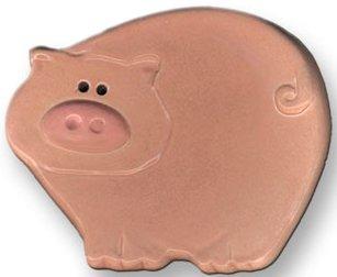 August Ceramics 5002 Pig Soapdish