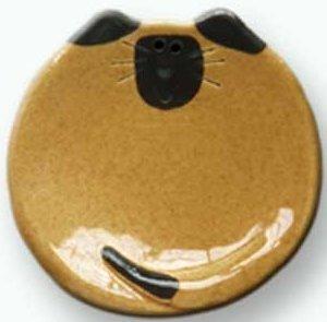 August Ceramics 5028T Siamese Tan Soapdish
