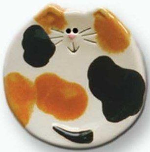 August Ceramics 5029 Calico Soapdish