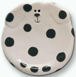 August Ceramics 5047DAL Dalmatian Soapdish