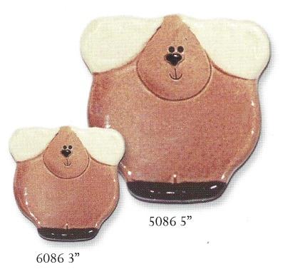 August Ceramics 5086 Soapdish