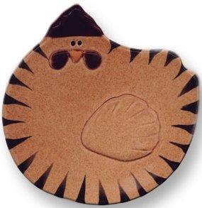 August Ceramics 5093T Tan Soapdish