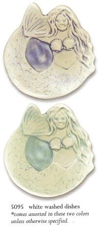 August Ceramics 5095 Whitewashed Soapdish