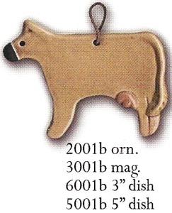 August Ceramics 6001B Brown Swiss Dish Mini