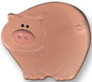 August Ceramics 6002 Pig Dish Mini