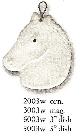 August Ceramics 6003W White Dish Mini
