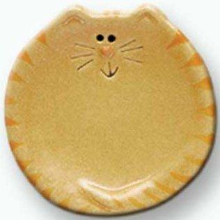 August Ceramics 6027Y Tiger Yellow Tea Bag Holder