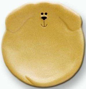 August Ceramics 6047Y Yellow Tea Bag Holder