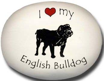 August Ceramics 70EB English Bulldog Paperweight