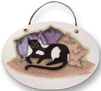 August Ceramics 8005 with Pillows Plaque
