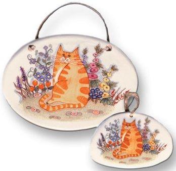 August Ceramics 8006 with Flowers Plaque