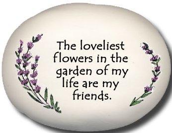 August Ceramics 8110B Lavender The loveliest flowers in Mini Rock