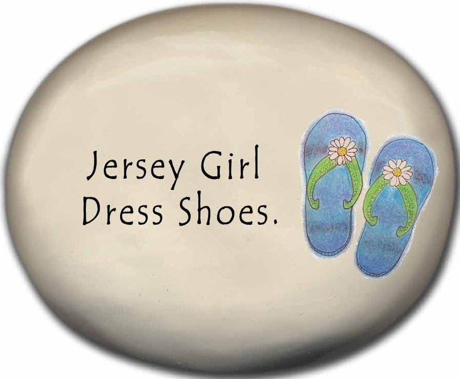 August Ceramics 8125I Flip Flop Jersey Girl dress shoes Mini Rock