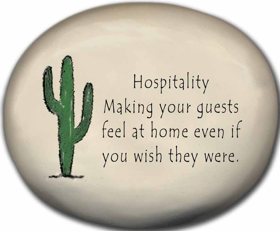 August Ceramics 8153J Cactus - Hospitality making your guests feel at home Mini Rock
