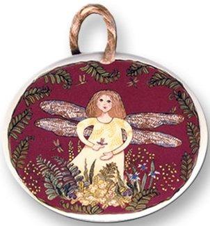 August Ceramics 9012 Fairy Ornament