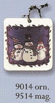 August Ceramics 9514 Magnet