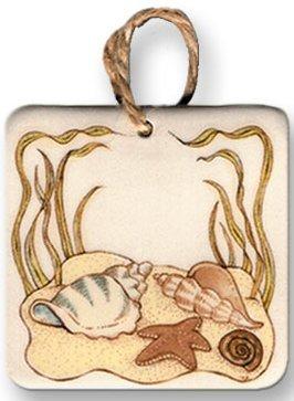 August Ceramics 9517 Seashell Magnet