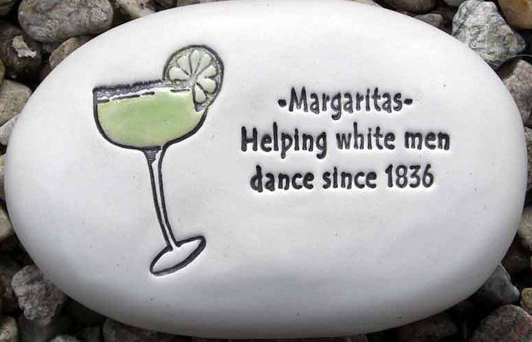 August Ceramics R315 Margaritasm helping white men with plain margarita Rock