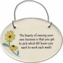 August Ceramics 2120B Blackeyed Susan The beauty of owning your own business Mini Disk