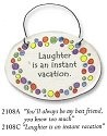 August Ceramics 3108A Verse - Click Photo Disk Magnet