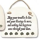 August Ceramics 4082D Verse - Click Photo Plaque