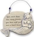 August Ceramics 4401I Sculpted Mermaid Plaque You never know how many