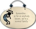 August Ceramics 4552A Kokopelli - Remember as far as anyone knows Beaded Plaque