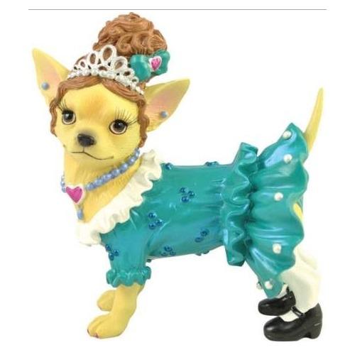 Aye Chihuahua 13693 Tiara Chihuahua Figurine