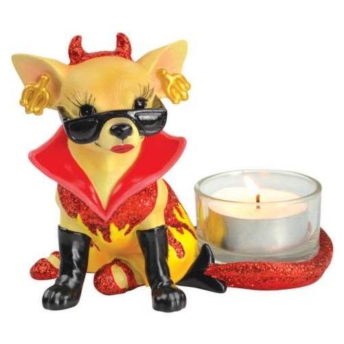 Aye Chihuahua 13699 One Hot Diva Chihuahua Tealight