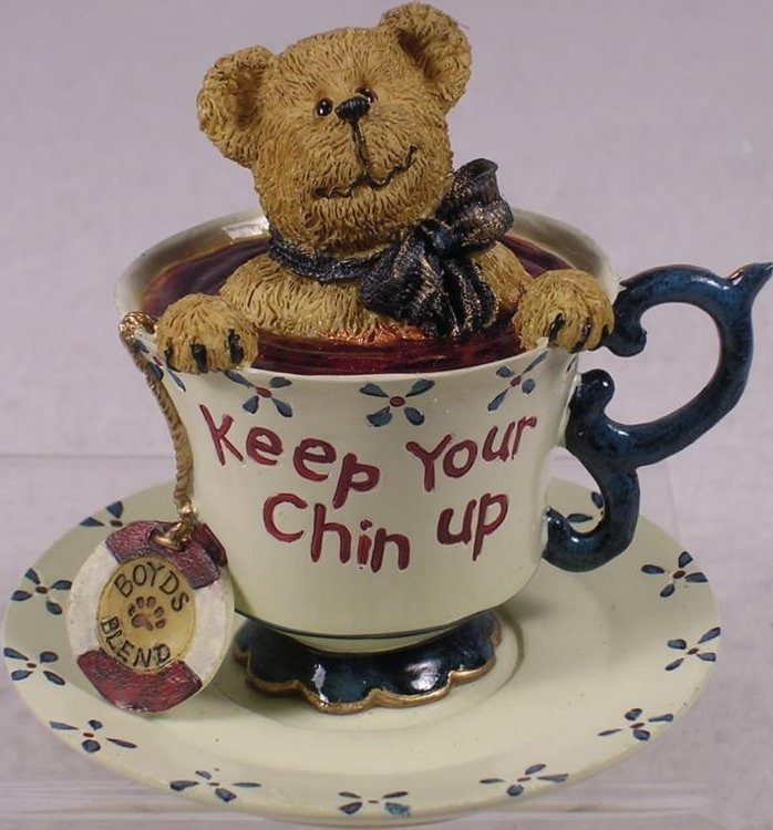 Boyds Bears Collection 24305 Cherry Teabearie Keep Your Chin Up