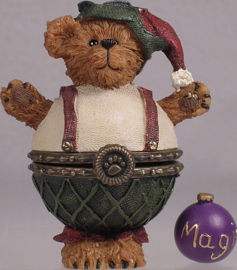 Boyds Bears Collection 4014769 Alvin Plump n Waddle With Magic