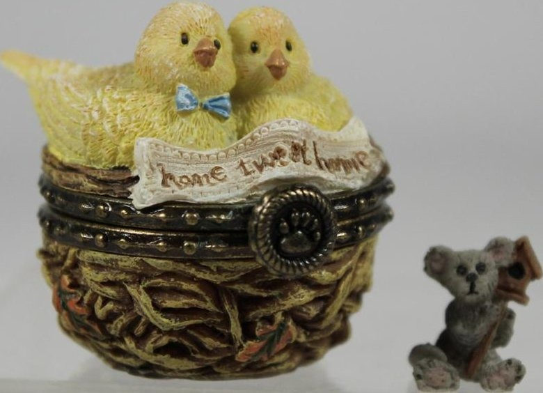 Boyds Bears Collection 4019383 Mr & Mrs Nestling s Home Tweet Home