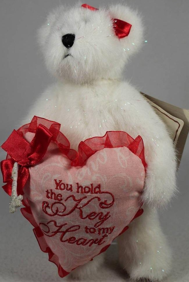 Boyds Bears Collection 4026184 Juliette Luvington You Hold The Key To My Heart
