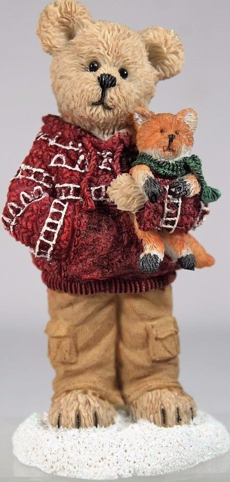 Boyds Bears Collection 4041884 Cooper Goodfriend With Sly Cozy Companions